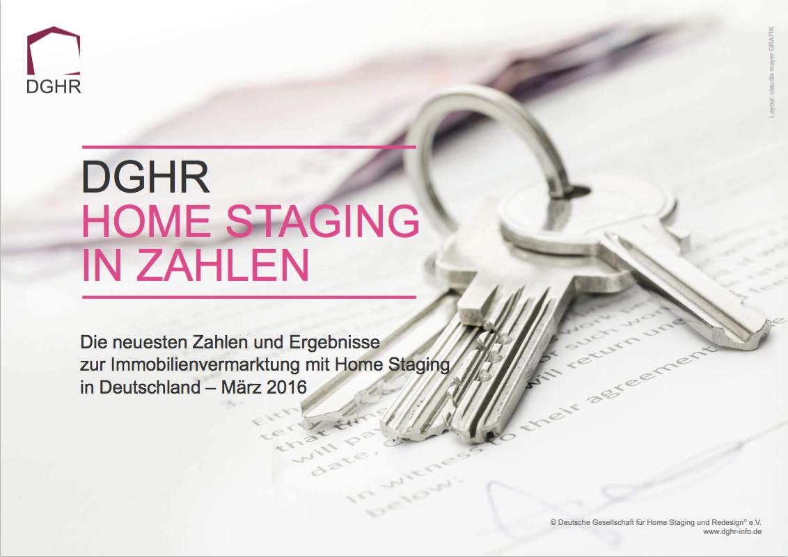 Aktuelle Zahlen zum Home Staging -  Schauen Sie sich die DGHR Statistik an
