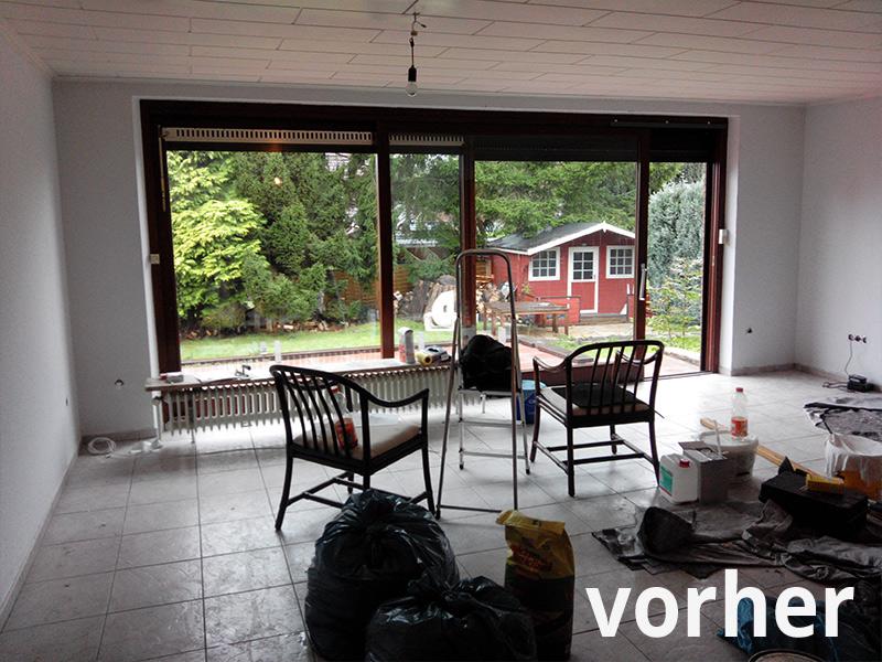 Before-Wohnzimmer/Essbereich
