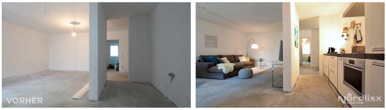 Home Staging Rohbau Innenstadt Jever