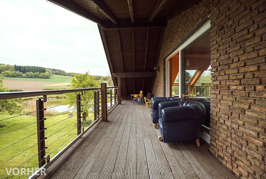 Before-Balkon